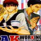 Kuroko no Basuke - AK Working Warning (Doujinshi)